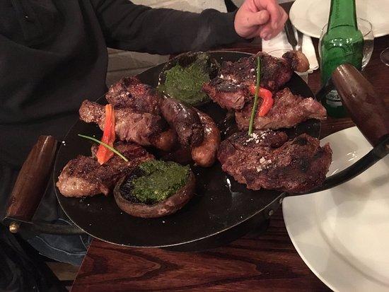Constancia Argentine Grill: grigliata per due