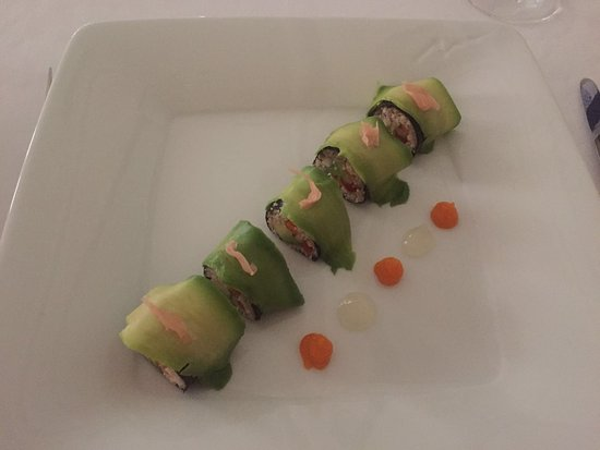 Villa Padierna Thermas de Carratraca: Sushi vegetal