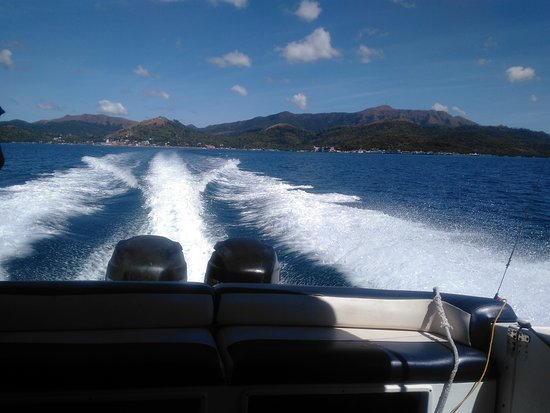 Two Seasons Coron Island Resort & Spa: Rode the Speed boat to and from TWO SEASON'S Bayside
