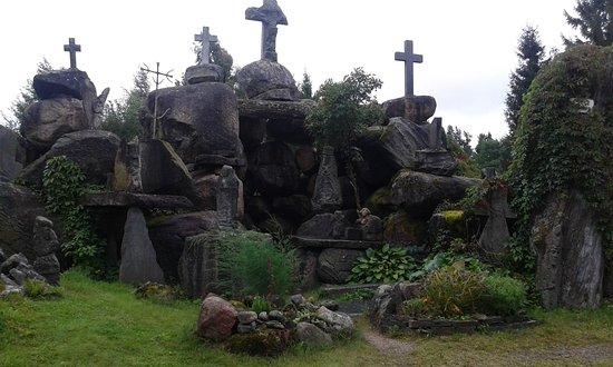 Plunge, Lithuania: escultura