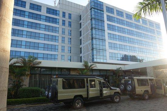Mount Meru Hotel: Ready for a safari...