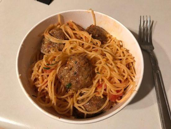 Pasta Diablo with Italian Sausage - Picture of Piada ...