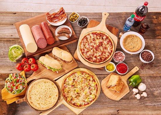 Lancaster, OH: Pizza, salads, calzones, dessert