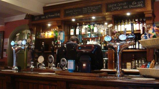 Stourton, UK: The Bar