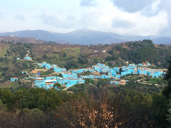 Juzcar, Spain: The Smurfs Village in Andalusia