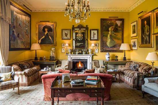 The Drawing Room at The Bath Priory - Picture of The Bath Priory ...