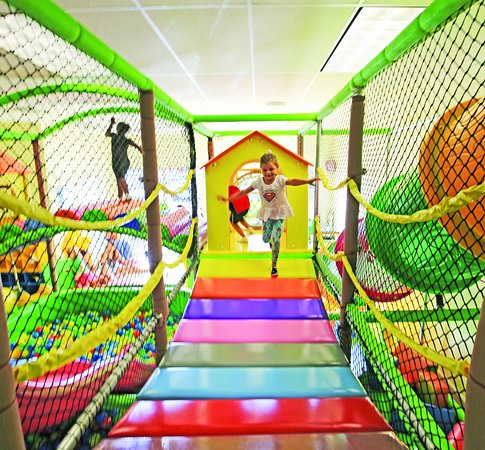 Playland Indoor Payground for kids: The bridge