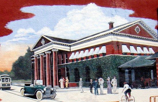 Depot District: Depot Mural