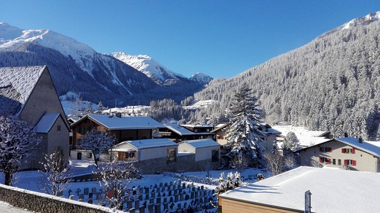 Gasthaus Sonne: Klosters from the Sonne