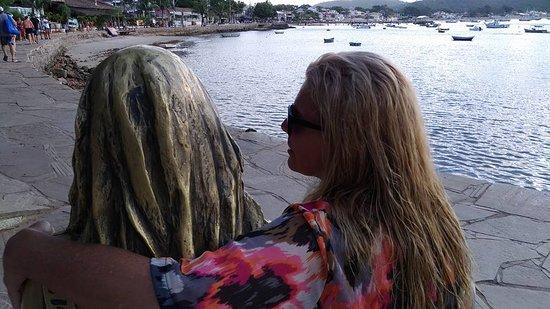 Buzios, RJ: Minha esposa de costas kkkkk