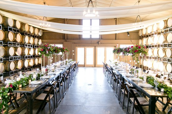 Lorimar Vineyards And Winery Barrel Room Interior