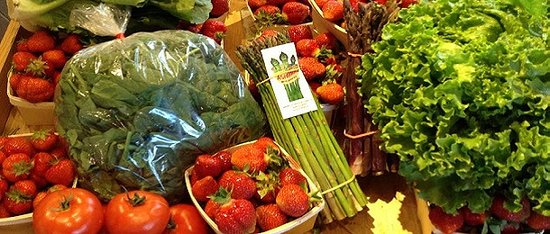 Amherst, MA: Locally Grown Produce