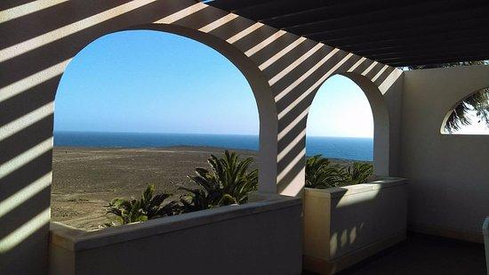 Elba Lucia Sport & Suite Hotel: Taras z widokiem na ocean