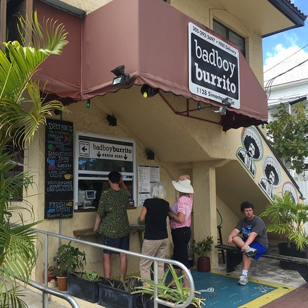 Photo of Mexican Restaurant Bad Boy Burrito at 1128 Simonton St, Key West, FL 33040, United States