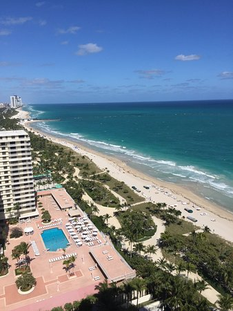 The St. Regis Bal Harbour Resort: View from my balcony
