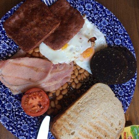 Blairgowrie, UK: zweiter Teil vom Frühstück :-)