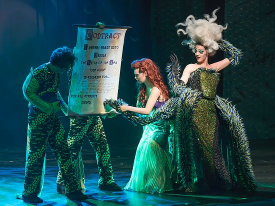 Disney's The Little Mermaid June 2016 - Picture of Valley ...