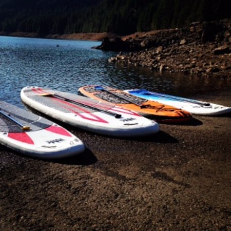 McKenzie Bridge, OR: Paddle board rentals, a fun way to explore our waterways!