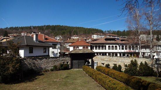 Tryavna, Bulgarie : The yard