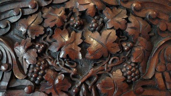 Tryavna, Bulgarie : Wood-carved ornament