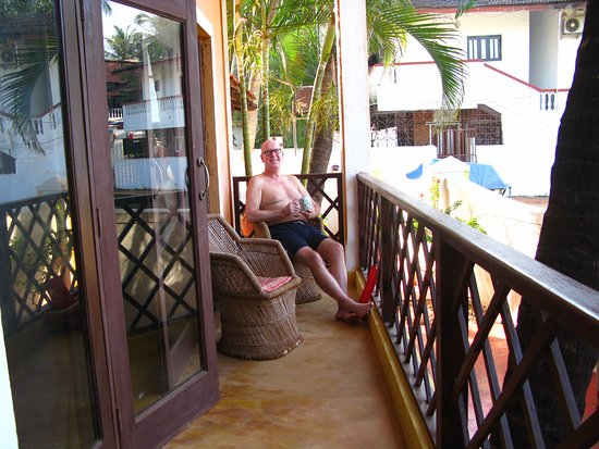 Casa Candolim: the balcony