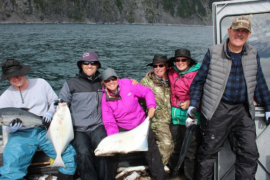 Sterling, AK: The gang showing off their catch!!