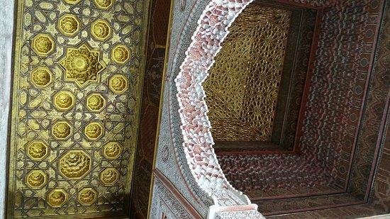 Saadian Tombs: Lugar sorprendente!