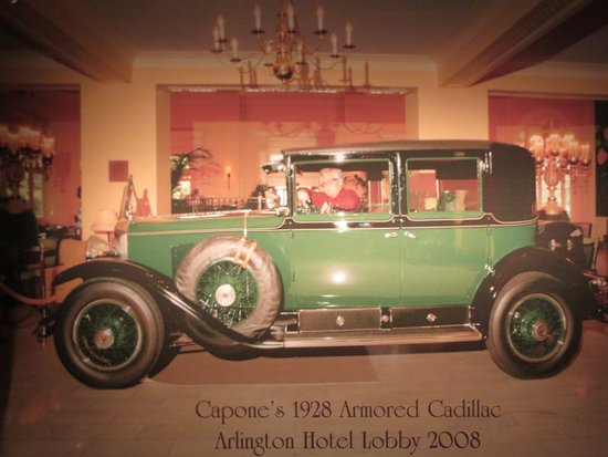 Gangster Museum of America: Capone owned the first-ever armored car