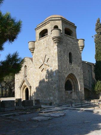 Filerimos, Greece: la caratteristica chiesa