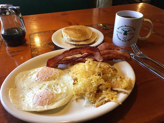 Fairplay, CO : A delicious all-American breakfast!