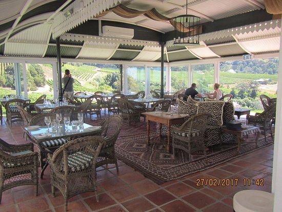 Constantia, Sudáfrica: The Restaurant