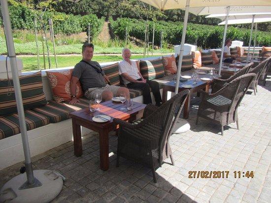 Constantia, Sudáfrica: Outside Wine Tasting area