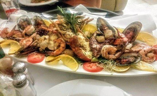 Melia Puerto Vallarta All Inclusive: Seafood Platter-Room Service $27USD