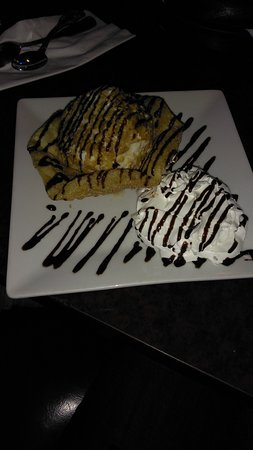 Cherry Valley, CA: fried ice cream dessert