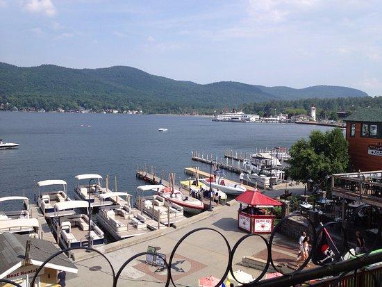 Lake George: harbor