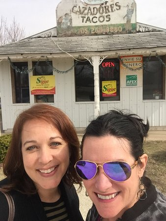 Onarga, IL: In front of authentic Mexican restaurant.