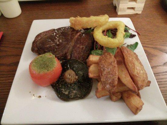 Askham, UK: Steak & Chips