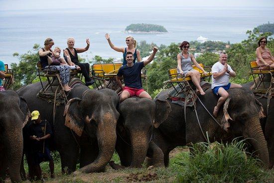 Kok Chang Safari Elephant Trekking: southern ocean view