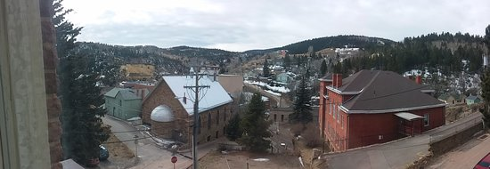 Central City, CO: View from our room in March