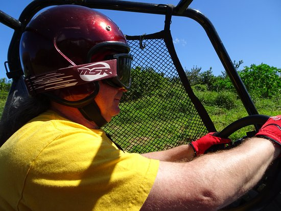ATV Outfitters Hawaii: In the drivers seat of the dual ATV