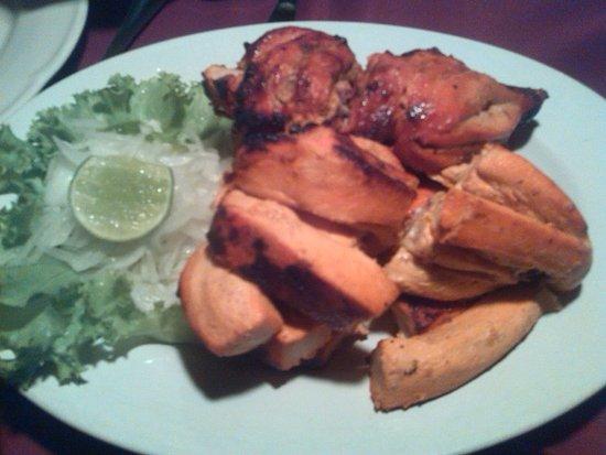 Himali Cha Cha Restaurant: Pollo tandoori