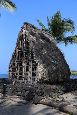 Honaunau, HI: Temple replica