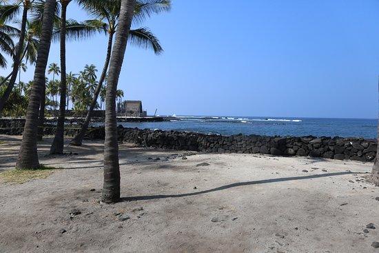 Honaunau, Hawái: Lava coast