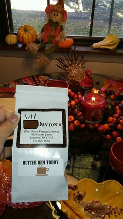 Lemoyne, PA: Dayton's Butter Rum Coffee Is My Favorite!!!