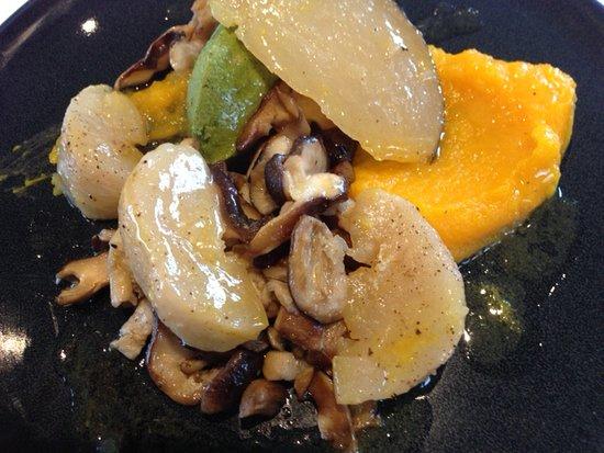 Durtal, ฝรั่งเศส: vegan main utterly delicious