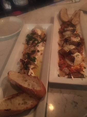 Bin 22: Octopus and two of their mozzarella dishes!