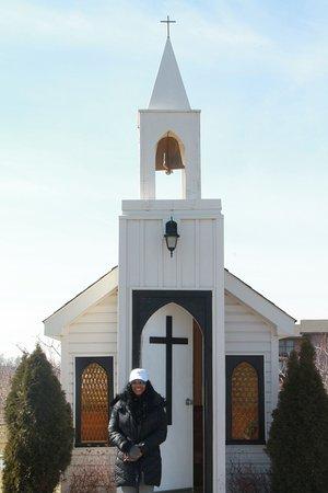 Living Water Wayside Chapel: Outside of chapel