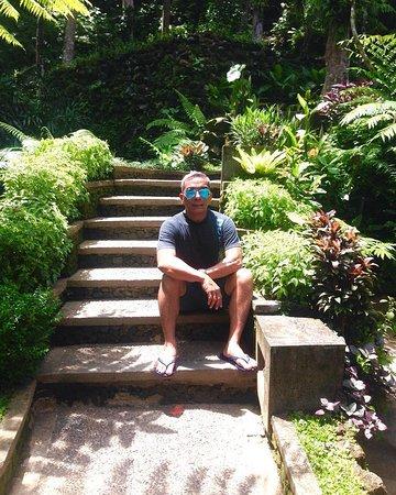 بيتا ماها: This really Balinese style hotel , using sairs similiar with Balinese living in the village .
