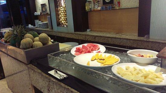 The Bellevue Manila: Fruit bar at breakfast