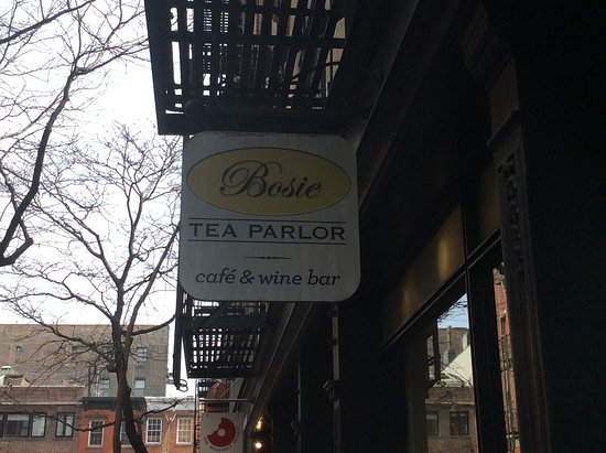 Photo of Cafe Bosie Tea Parlor at 10 Morton St, New York, NY 10014, United States